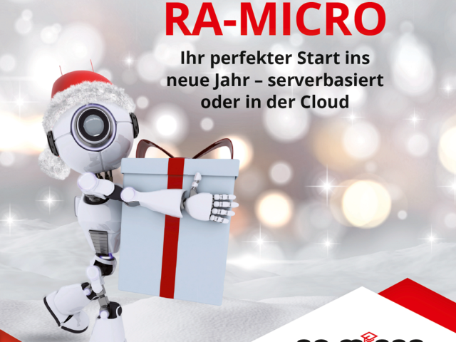 RA-MICRO Weihnachtsaktion