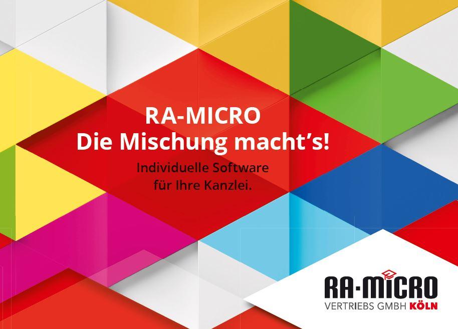 RA-MICRO - die Mischung macht's